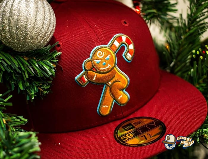 Gingerbread Man 59Fifty Fitted Hat by East Third Studio x New Era