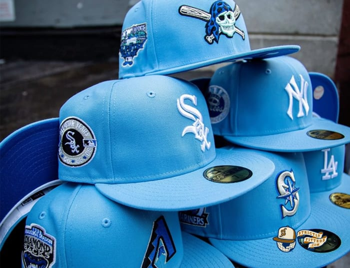 Icebergs Hat Club December 19 59Fifty Fitted Hat Collection by MLB x New Era