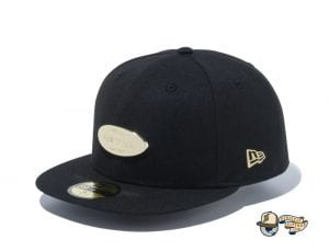 Metal Plate 59Fifty Fitted Cap by New Era Black