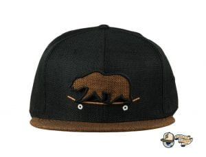 Removable Bear Skateboard Fitted Cap by Grassroots Front