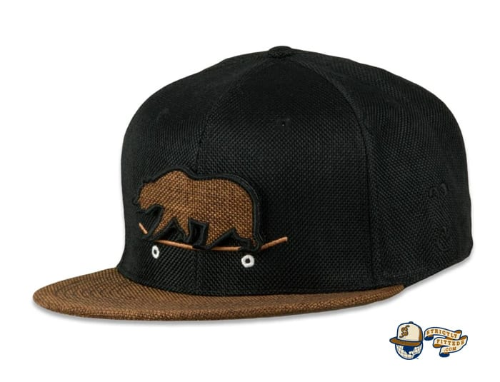 Removable Bear Skateboard Fitted Cap by Grassroots