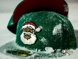 Santa Clause Logo 59Fifty Fitted Hat Collection by Brandiose x New Era Front