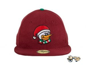 Santa Goose Island Bombers 59Fifty Fitted Hat by Dionic x New Era Back