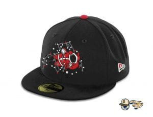 Santa Moonwalker 59Fifty Fitted Cap by The Capologists x New Era Left