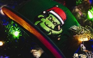 Santa OctoSlugger 59Fifty Fitted Hat by Dionic x New Era