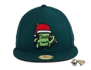 Santa OctoSlugger 59Fifty Fitted Hat by Dionic x New Era Front