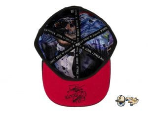 Sugar Cube Fitted Cap by Stanley Mouse x Grassroots Bottom