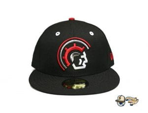 Vanguard Black Red White 59Fifty Fitted Cap by Fitted Hawaii x New Era