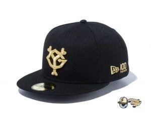 Yomiuri Giants New Era 100th Anniversary 59Fifty Fitted Cap by NPB x New Era Gold