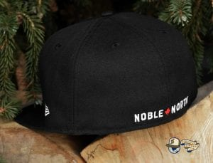 Classic Patch 59Fifty Fitted Cap by Noble North x New Era Black