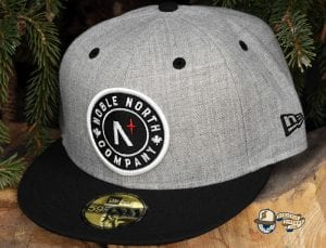 Classic Patch 59Fifty Fitted Cap by Noble North x New Era Grey