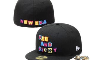 Dee And Ricky Multi Logo 59Fifty Fitted Cap by Dee And Ricky x New Era