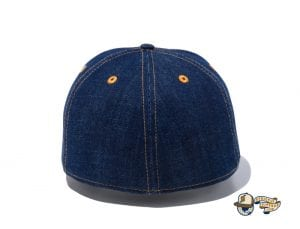 Denim Leather Patch 59Fifty Fitted Cap by New Era Back