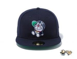 Doraemon Spring Summer 2021 59Fifty Fitted Cap by Doraemon x New Era Navy