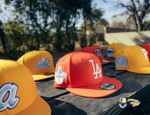 Hat Club Exclusive Frozen Lemonade And Tangerine 59Fifty Fitted Hat Collection by MLB x New Era