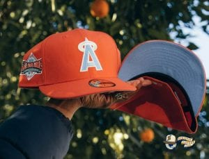 Hat Club Exclusive Frozen Lemonade And Tangerine 59Fifty Fitted Hat Collection by MLB x New Era Tangerine