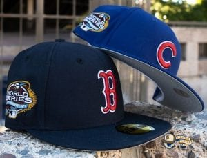 Hat Club Exclusive What If 2003 World Series Patch 59Fifty Fitted Hat Collection by MLB x New Era