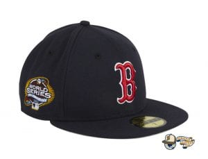 Hat Club Exclusive What If 2003 World Series Patch 59Fifty Fitted Hat Collection by MLB x New Era Boston