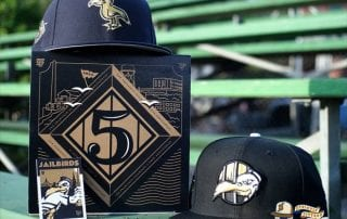 Jailbirds 5 Year Box Set 59Fifty Fitted Hat Collection by Thrill SF x New Era Box