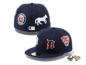 MLB All Over Hits 59Fifty Fitted Cap Collection by MLB x New Era Tigers