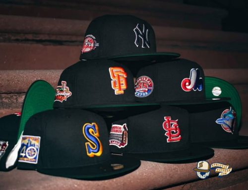 MLB Black Dome 59Fifty Fitted Hat Collection by MLB x New Era