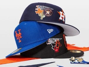 MLB City Patch 59Fifty Fitted Cap Collection by MLB x New Era