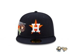MLB City Patch 59Fifty Fitted Cap Collection by MLB x New Era Astros