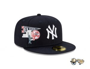 MLB City Patch 59Fifty Fitted Cap Collection by MLB x New Era Yankees