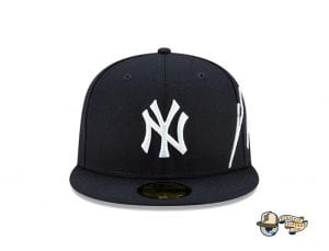 MLB Cursive 59Fifty Fitted Cap Collection by MLB x New Era Yankees