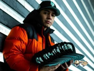 MLB Midnight Mint 59Fifty Fitted Hat Collection by MLB x New Era Right