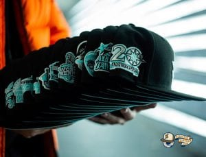MLB Midnight Mint 59Fifty Fitted Hat Collection by MLB x New Era Side