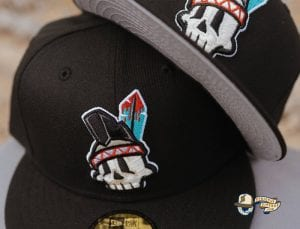 Native Skull 59Fifty Fitted Hat by Ink Park x New Era Front