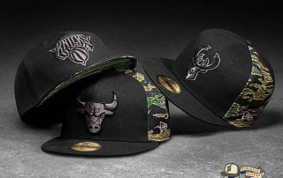 NBA Camo Panel 59Fifty Fitted Cap Collection by NBA x New Era