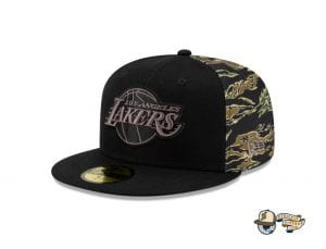 NBA Camo Panel 59Fifty Fitted Cap Collection by NBA x New Era Lakers