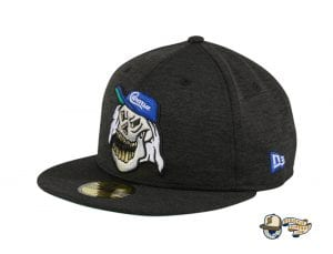 Skull Shadow Tech Black 59Fifty Fitted Hat by Dionic x Ill Bill x New Era Left