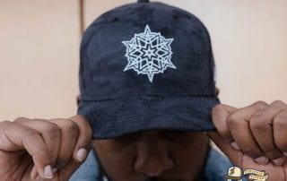 Snowflake Navy 59Fifty Fitted Hat by Dionic x New Era