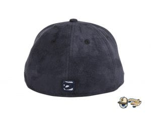 Snowflake Navy 59Fifty Fitted Hat by Dionic x New Era Back