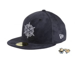 Snowflake Navy 59Fifty Fitted Hat by Dionic x New Era Left
