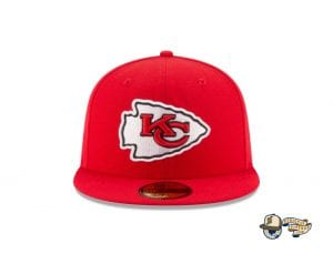 Super Bowl LV Side Patch 59Fifty Fitted Cap Collection by NFL x New Era Front