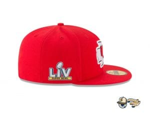 Super Bowl LV Side Patch 59Fifty Fitted Cap Collection by NFL x New Era Side