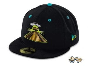 Temple Of The Sky Gods 59Fifty Fitted Cap By The Capologists x New Era Front