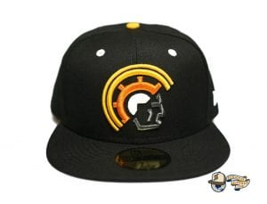 Vanguard Black Multi 59Fifty Fitted Cap by Fitted Hawaii x New Era