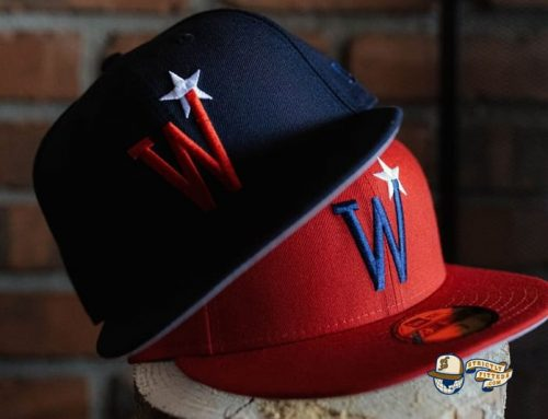 Washington Stars Prototype Red Blue 59Fifty Fitted Hat by MLB x New Era