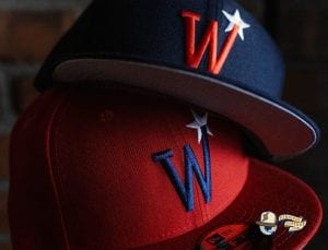 Washington Stars Prototype Red Blue 59Fifty Fitted Hat by MLB x New Era Zoom