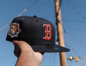 AL Charter Member 59Fifty Fitted Hat Collection by MLB x New Era RedSox