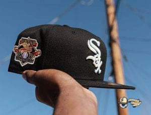 AL Charter Member 59Fifty Fitted Hat Collection by MLB x New Era WhiteSox