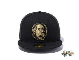 Benjamin Franklin 59Fifty Fitted Cap by New Era Front