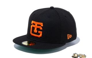 Classic Yomiuri Giants Black Orange 59Fifty Fitted Cap by NPB x New Era