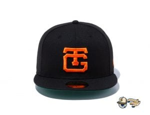 Classic Yomiuri Giants Black Orange 59Fifty Fitted Cap by NPB x New Era Front