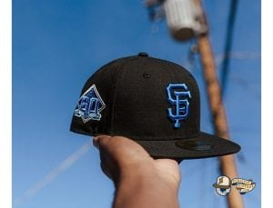 Hat Club Exclusive Blackberry 1 MLB 59Fifty Fitted Hat Collection by MLB x New Era Giants